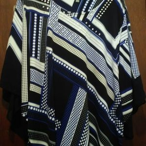 Lovely JM Collection 3X Tunic Top